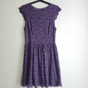 Talula purple lace dress